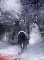 Le chevalier de mort blanche by Pierrick