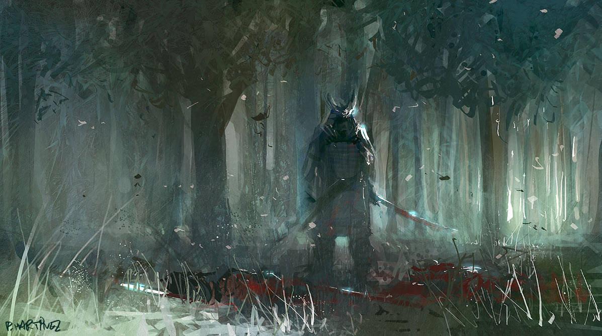 Samurai by Pierrick