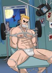 Eddie Brock bound by Spiderman (F) by Ming-GID