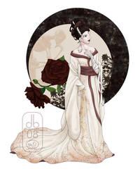 Bride in Kimono - COMM by dubird