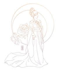 Bride in Kimono - LINE by dubird