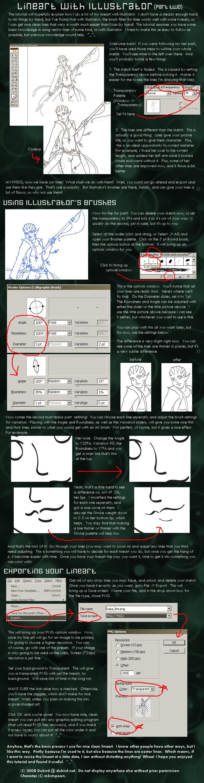 Illustrator Lineart Tut PT2 by dubird