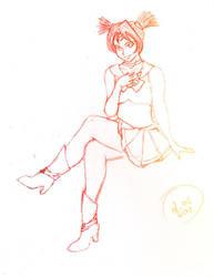 CSK - Sailor Chronos by dubird
