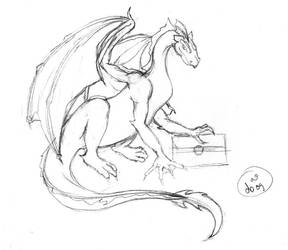 CSK Dragon by dubird