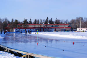 Brewer Park - Speed Skating Oval by MrProsser42