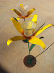 Daffodils Freestanding Painted by womanwelder