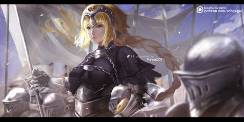 Jeanne D'Arc by PrinceG07