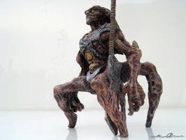 4 legged Warrior Alien by mtingstrom