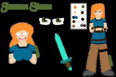 Jemma Stone (Ref Sheet) by E-Nuttall