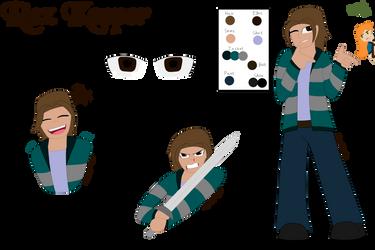 Rex Keeper (Ref Sheet) by E-Nuttall