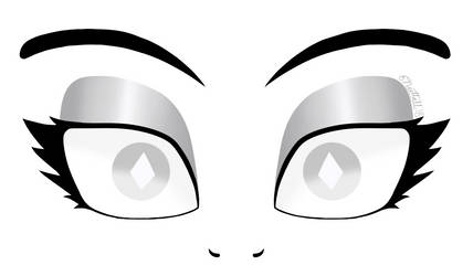 Eyes of White Diamond by E-Nuttall