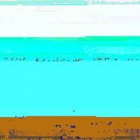 Pixel Glitch Beach by bitpusher2600