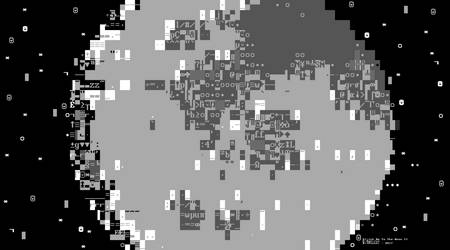 Glitch Me To The Moon II (Personal Print Revision) by bitpusher2600
