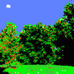 DOS Nature (Colorized Version) by bitpusher2600