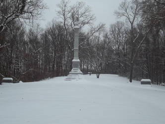 Snow capped monuments by Big-E501