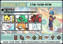 My Trainer Card by evildew