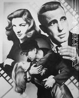 Bacall and Bogart by alexphch