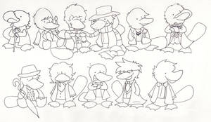 Ducktor Who by pai-draws