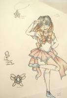 Sailor Celestine Flying Fox (now with bio!) by AcronaSilverfox