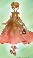 Chocolate Covered Cherry Princess by AcronaSilverfox