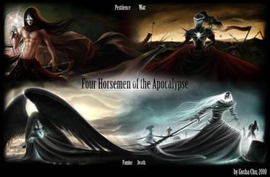IV Horsemen of the Apocalypse by Procrust