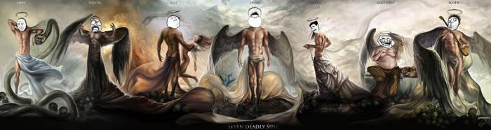 Rage Seven Deadly Sins by Procrust