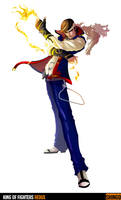 King of Fighters Redux: Shingo by digitalninja