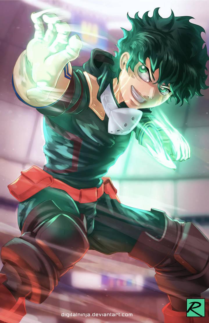 Midoriya - My Hero Academia by digitalninja