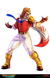 Tekken Tribute Armour King P2 By Sarrus On Deviantart