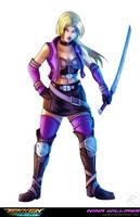 Tekken Redux: Nina by digitalninja