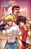 Final Fight - Main Crew by digitalninja