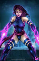 Psylocke - X-Men by digitalninja