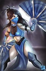Kitana - Mortal Kombat by digitalninja