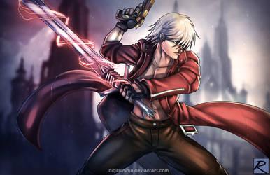 Dante - Devil May Cry by digitalninja