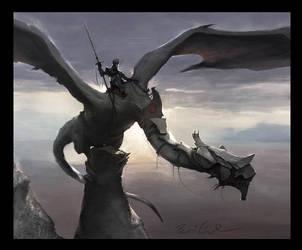 Dragon Rider by Bri-in-the-Sky