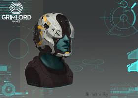 Medium Helmet2 by Bri-in-the-Sky