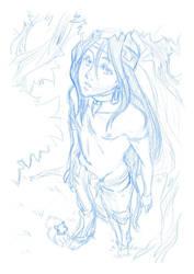 Ineda - cover sketch by thooruchan