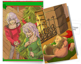 Christmas postcards. by thooruchan