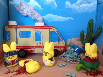 Breaking Bad Diorama 1 by pushxtonotdie