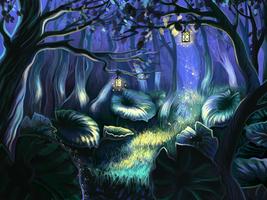 Magic Forest by ToyDark