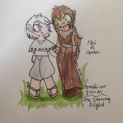 Mei and Gabu by SonicSailorKeyblade