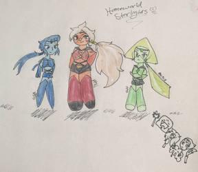 Homeworld Starlight(gems)?  by SonicSailorKeyblade