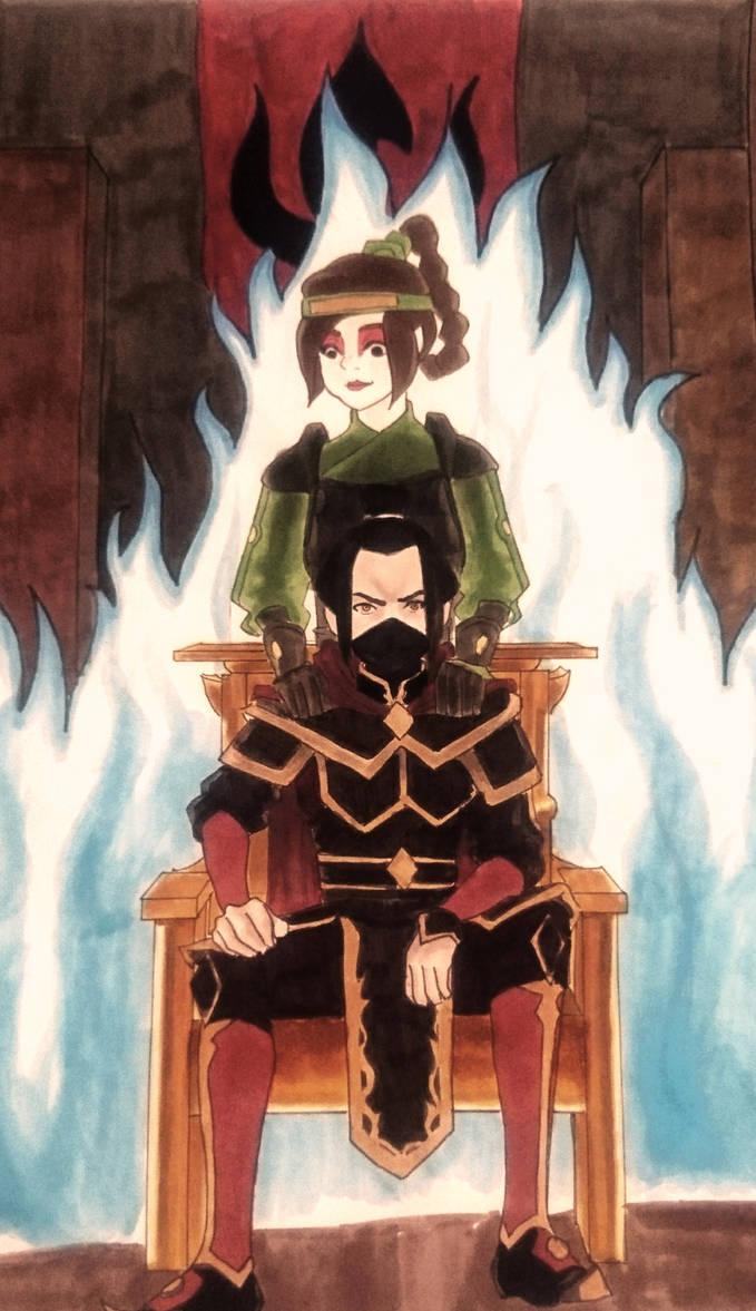 Avatar Azula Mai Ty Lee ablaze - chapter 1 - onepiecerin - avatar: the last
