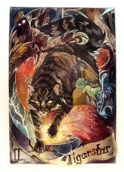 Tigerstar - The Magician  by Flame-of-inspiration