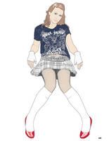 Schoolgirl by docdavis
