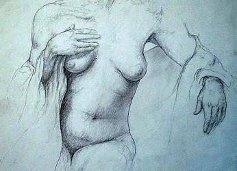 Sketchbook, life drawing V by docdavis