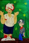 (Screenshot Redraw?) Cheif by Art-Tart-Taffyness