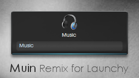 Muin Remix for Launchy by coroners