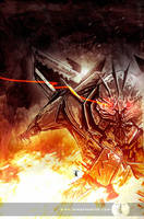 Starscream by Templesmith