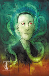Saint Lovecraft by Templesmith